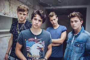The Vamps at a shoot