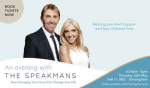 Poster promoting An Evening With The Speakmans event
