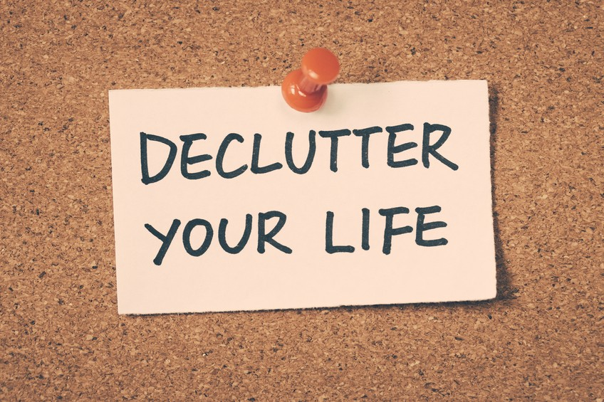 Time To Declutter Your Life