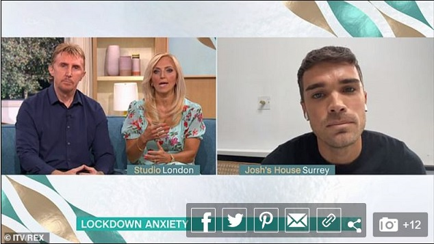 Josh from Union J on This Morning with The Speakmans