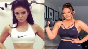 Vicky Pattison weight before and after